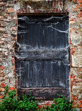Old door & x28;frightening background& x29; Stock Photography