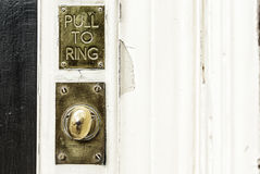 The Old Doorbell Royalty Free Stock Photography