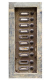 Old doorbells Royalty Free Stock Photos