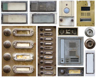Old doorbells Stock Photo
