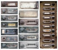 Old doorbells Royalty Free Stock Images