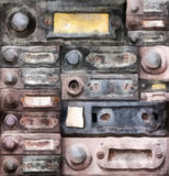 Old doorbells Royalty Free Stock Photography