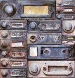 Old doorbells Stock Photography