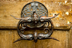 Old doorhandle Royalty Free Stock Images