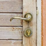 Old doorhandle Royalty Free Stock Image