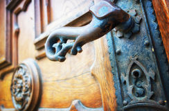 Old doorknob Royalty Free Stock Photography