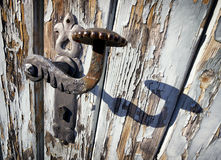Old doorknob Stock Photography