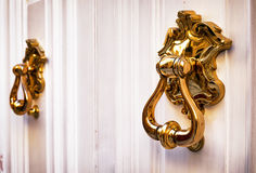 Old doorknocker Stock Images