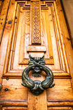 Old doorknocker Royalty Free Stock Photos