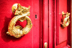 Old doorknocker Royalty Free Stock Image