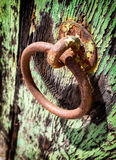 Old doorknocker Royalty Free Stock Photography