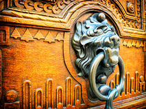 Old doorknocker Stock Photo
