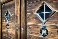 Old doorknocker Royalty Free Stock Images