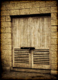 Old doors Stock Image