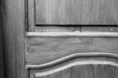 Old doors. Black and white photo royalty free stock photos