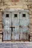 Old doors in malta Royalty Free Stock Photo