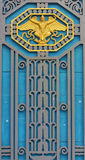 Old doors Contemporary, beautiful and strong. Royalty Free Stock Photos