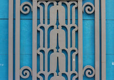 Old doors Contemporary, beautiful and strong. Royalty Free Stock Images