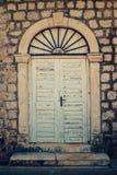 Old doors in Dobrota Stock Photos