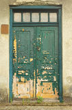 Old doors faded by sun Stock Photos