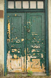 Old doors faded by sun Stock Image