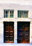 Old doors in France Royalty Free Stock Photography