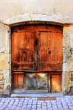 Old doors in France Royalty Free Stock Images