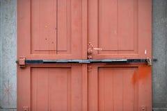 Old doors, handles, locks, lattices and windows Stock Photo