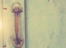 Old doors, handles, locks, lattices and windows.  royalty free stock images