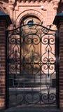 Old doors, handles, locks,. Lattices and windows Stock Images