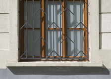 Old doors and handles and locks and lattices and windows. Stock Photography