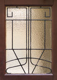 Old doors, handles, locks, lattices and windows Stock Images