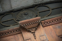 Old doors, handles, locks, lattices and windows Royalty Free Stock Photo