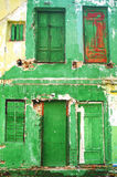 Old doors. In an old house Royalty Free Stock Photos