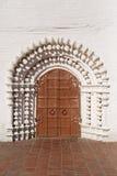 Old doors of iron Stock Photos