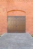 Old doors of iron Royalty Free Stock Photo