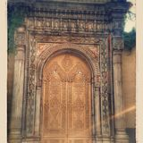 Old doors Istanbul Nostalgia. Historical door Istanbul city Stock Images