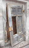 Old doors on Jewish Synagogue Royalty Free Stock Images