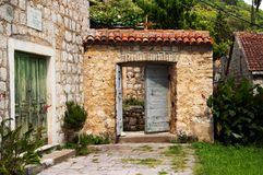 Old doors, Montenegro Royalty Free Stock Photography