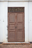 Old doors. At the temple in Chiang Mai Thailand Royalty Free Stock Photos