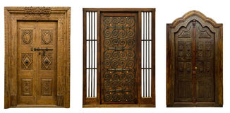 Old doors set 5 Royalty Free Stock Photography