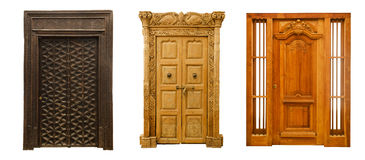 Old doors set 6 Stock Images