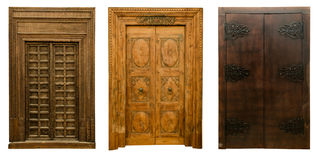 Old doors set 7 Royalty Free Stock Image