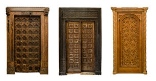 Old doors set 11 Stock Images
