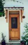 Old doors on street Stock Photography