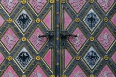 Old doors Stock Image