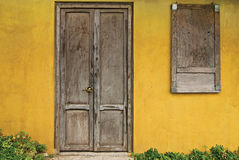 Old Doors and Windows Royalty Free Stock Image