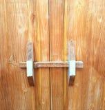 Old doors. Old wood doors Stock Images