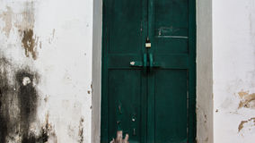 The old doors. The old wood doors anciented stock photos