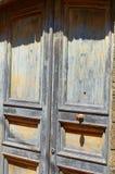 The old doors. Old wooden doors Stock Image